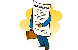 Description of training in resume